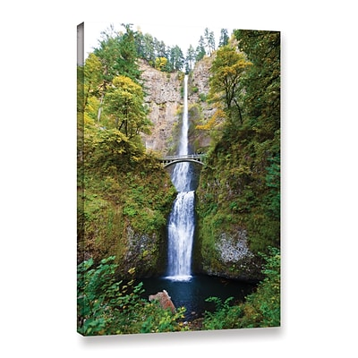 ArtWall Multnomah Falls Gallery-Wrapped Canvas 24 x 36 (0yor046a2436w)