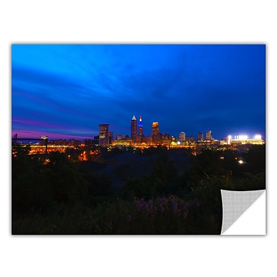 ArtWall Cleveland 3 Art Appeelz Removable Wall Art Graphic 32 x 48 (0yor016a3248p)