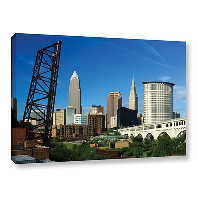 ArtWall Cleveland 13 Gallery-Wrapped Canvas 12 x 18 (0yor026a1218w)