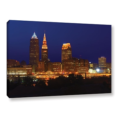 ArtWall Cleveland 15 Gallery-Wrapped Canvas 12 x 18 (0yor028a1218w)
