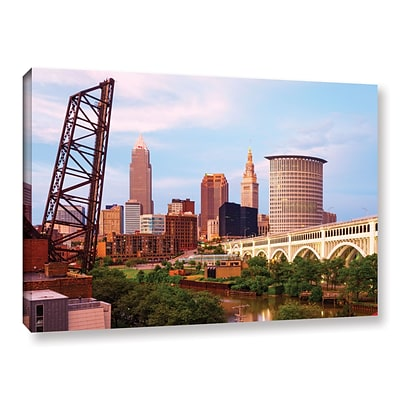 ArtWall Cleveland 10 Gallery-Wrapped Canvas 16 x 24 (0yor023a1624w)
