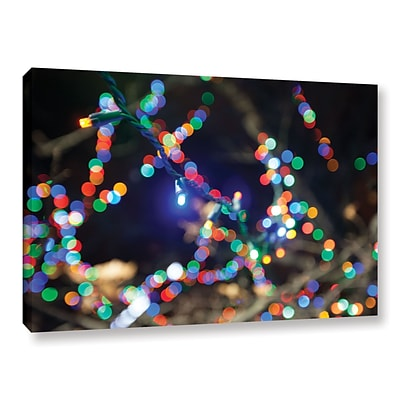 ArtWall Bokeh 3 Gallery-Wrapped Canvas 32 x 48 (0yor007a3248w)