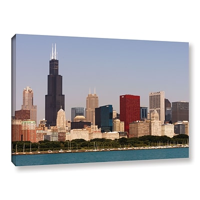 ArtWall Chicago Gallery-Wrapped Canvas 32 x 48 (0yor013a3248w)