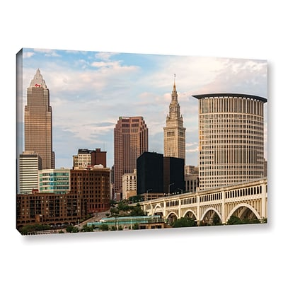 ArtWall Cleveland 9 Gallery-Wrapped Canvas 12 x 18 (0yor022a1218w)