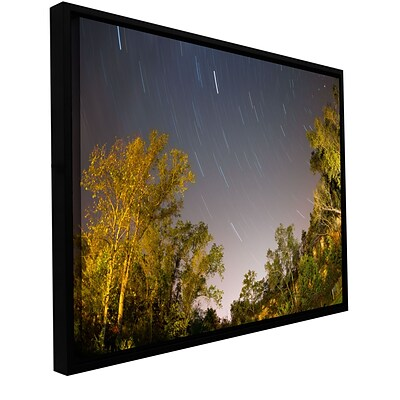 ArtWall Star Trails Gallery-Wrapped Canvas 32 x 48 Floater-Framed (0yor056a3248f)