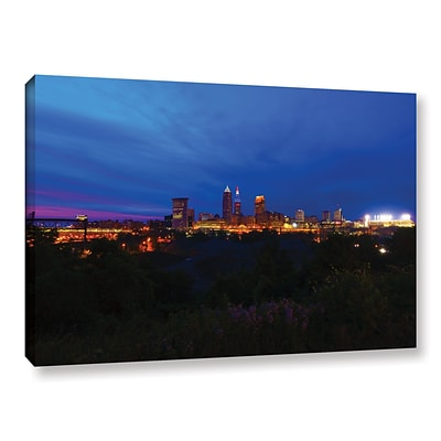ArtWall Cleveland 3 Gallery-Wrapped Canvas 12 x 18 (0yor016a1218w)