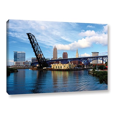 ArtWall Cleveland 12 Gallery-Wrapped Canvas 16 x 24 (0yor025a1624w)
