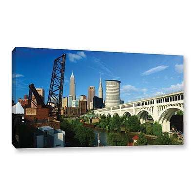 ArtWall Cleveland 11 Gallery-Wrapped Canvas 24 x 48 (0yor024a2448w)