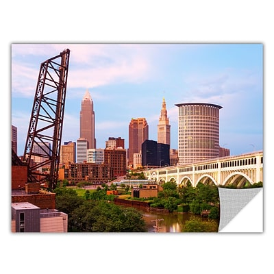 ArtWall Cleveland 10 Art Appeelz Removable Wall Art Graphic 32 x 48 (0yor023a3248p)