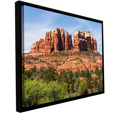 ArtWall Sedona 2 Gallery-Wrapped Canvas 12 x 18 Floater-Framed (0yor054a1218f)