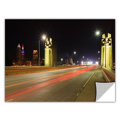ArtWall Cleveland 7 Art Appeelz Removable Wall Art Graphic 24 x 36 (0yor020a2436p)