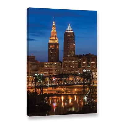 ArtWall Cleveland 14 Gallery-Wrapped Canvas 12 x 18 (0yor027a1218w)