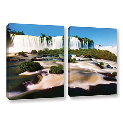 ArtWall Brazil 2 2-Piece Gallery-Wrapped Canvas Set 18 x 28 (0yor010b1828w)