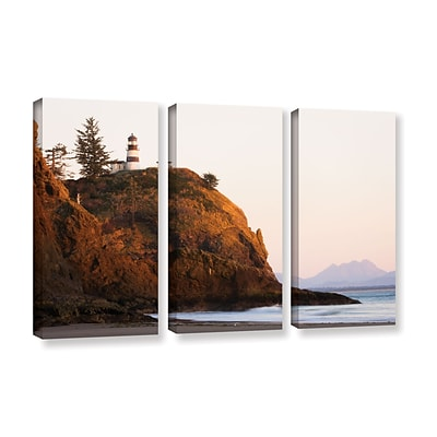 ArtWall Lighthouse 3-Piece Gallery-Wrapped Canvas Set 36 x 54 (0yor044c3654w)