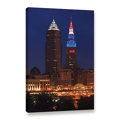 ArtWall Cleveland 4 Gallery-Wrapped Canvas 16 x 24 (0yor017a1624w)