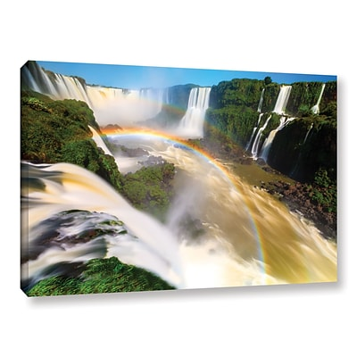 ArtWall Iguassu Falls 2 Gallery-Wrapped Canvas 16 x 24 (0yor042a1624w)