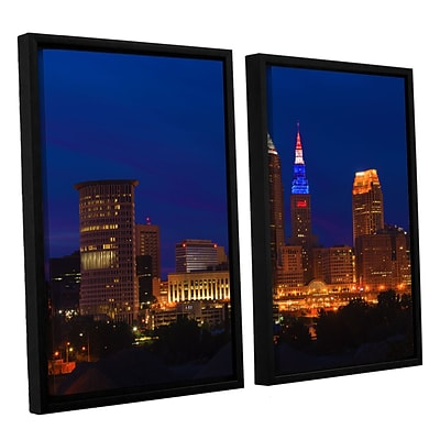 ArtWall Cleveland 5 2-Piece Canvas Set 32 x 48 Floater-Framed (0yor018b3248f)