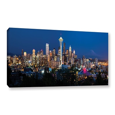 ArtWall Seattle 3 Gallery-Wrapped Canvas 18 x 36 (0yor052a1836w)