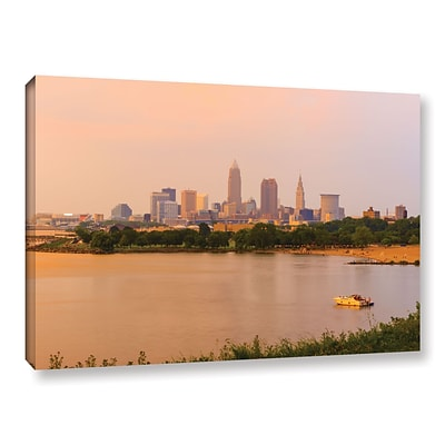 ArtWall Cleveland 19 Gallery-Wrapped Canvas 12 x 18 (0yor032a1218w)
