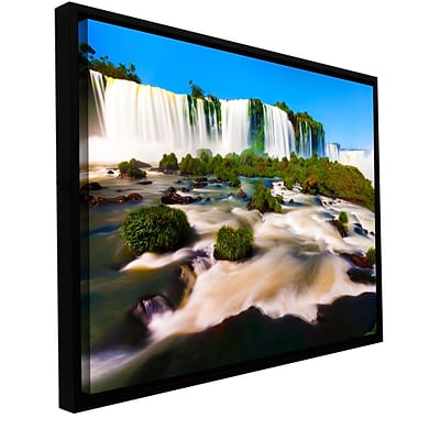 ArtWall Brazil 2 Gallery-Wrapped Canvas 24 x 36 Floater-Framed (0yor010a2436f)