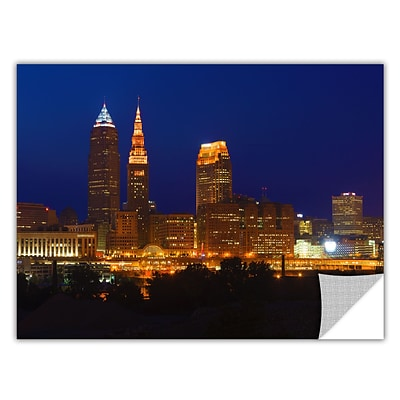 ArtWall Cleveland 15 Art Appeelz Removable Wall Art Graphic 24 x 36 (0yor028a2436p)