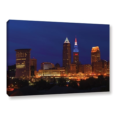 ArtWall Cleveland 5 Gallery-Wrapped Canvas 16 x 24 (0yor018a1624w)