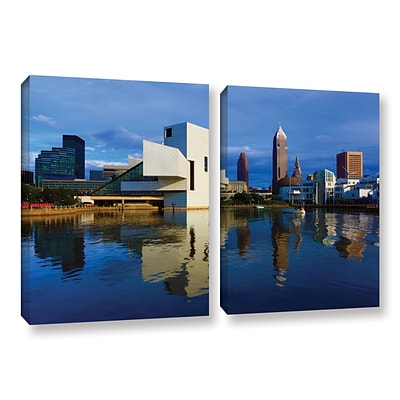 ArtWall Cleveland 2 2-Piece Gallery-Wrapped Canvas Set 32 x 48 (0yor015b3248w)