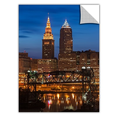 ArtWall Cleveland 14 Art Appeelz Removable Wall Art Graphic 32 x 48 (0yor027a3248p)