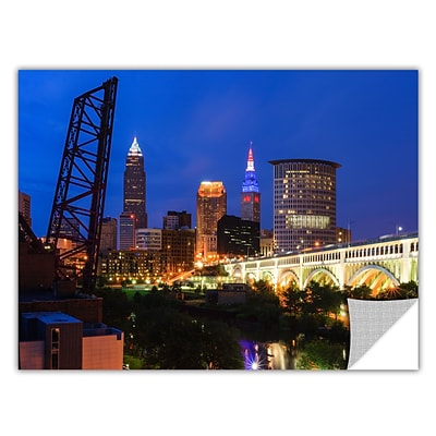 ArtWall Cleveland 21 Art Appeelz Removable Wall Art Graphic 24 x 36 (0yor034a2436p)