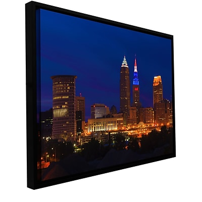 ArtWall Cleveland 5 Gallery-Wrapped Canvas 32 x 48 Floater-Framed (0yor018a3248f)