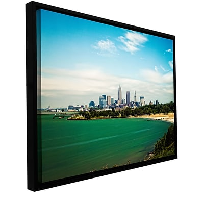 ArtWall Cleveland 22 Gallery-Wrapped Canvas 12 x 18 Floater-Framed (0yor035a1218f)