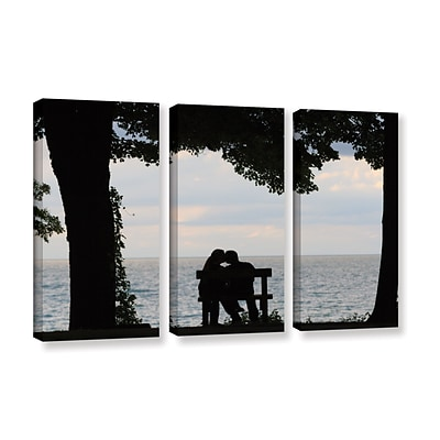ArtWall silhouette 3-Piece Gallery-Wrapped Canvas Set 36 x 54 (0yor055c3654w)