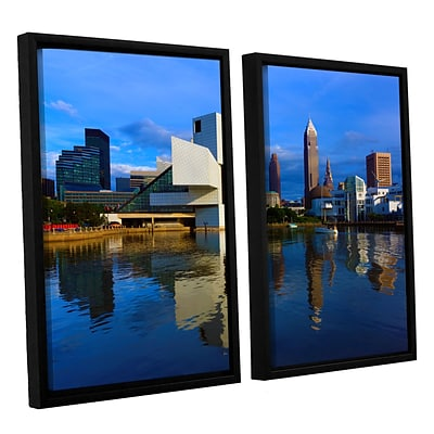 ArtWall Cleveland 2 2-Piece Canvas Set 32 x 48 Floater-Framed (0yor015b3248f)