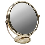 Naturally by Kingsley 10x Magnification Polished Beauty Mirror 9 x 9, Chrome (M-110)