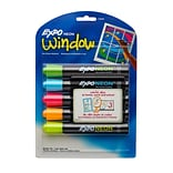 Expo® Neon Dry-Erase Markers; Bullet Tip, 5-Color Set