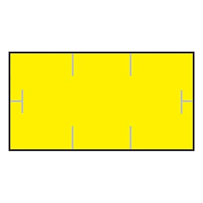 Garvey® 10 mm x 19 mm Blank Label, Yellow, 17000 Labels/Sleeve (GS1910)