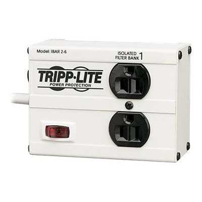 Tripp Lite Isobar 2-6 2-Outlet 1410 J Surge Protector; 6 Cord