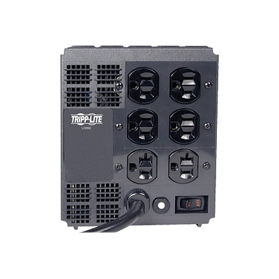 Tripp Lite LC2400 6-Outlet 1440 J Power Conditioner; 6 Cord
