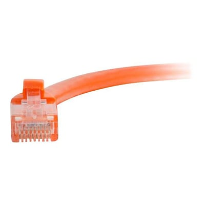 C2G ® 27812 7 RJ-45 Male/Male Cat6 Snagless Unshielded Ethernet Network Patch Cable, Orange
