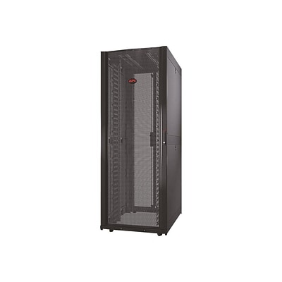 Schneider Electric APC® NetShelter SX 42U Black Rack Cabinet with Sides for Server