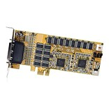 StarTech PEX16S952LP 16-Port Low Profile RS232 PCI Express Serial Card; Cable Included