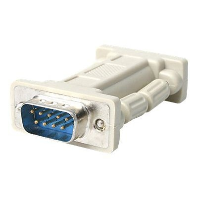 StarTech NM9MF DB9 RS232 Serial Null Modem Adapter; M/F