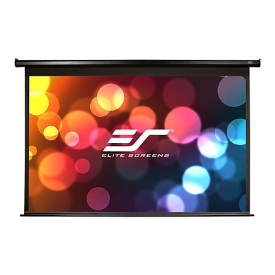 Elite Screens® Spectrum ELECTRIC110H Ceiling/Wall Mount Electric 110 Projection Screen