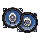 Pyle® PL42BL 180 W Pair Of Two-Way Speakers; Blue