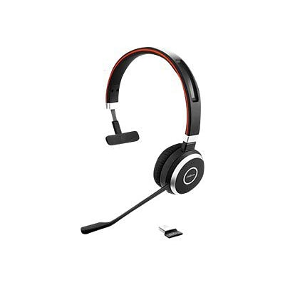 Jabra  Evolve  65 UC Mono Headset with Noise-Cancelling Microphone; Black