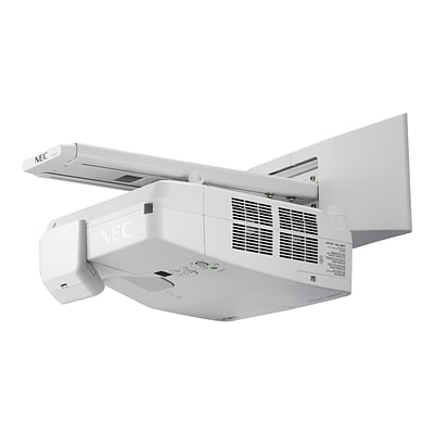 NEC NP-UM361XI-WK 720p XGA Interactive Ultra Short Throw LCD Projector; White
