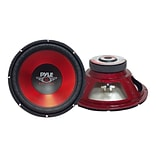 Pyle® PLW10RD 600 W Subwoofer; Red
