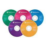 Verbatim® 700MB 52x CD Recordable Media, 25/Pack