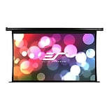 Elite Screens® Spectrum Tab-Tension ELECTRIC125HT Electric Ceiling/Wall Mount 125 Projector Screen