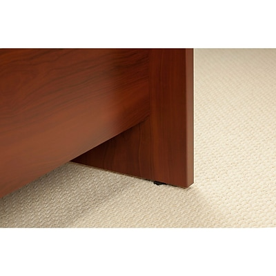 Bush Business Westfield Elite 60W x 24D C Leg Desk with 36W Return, Hansen Cherry